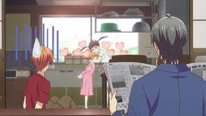 Kyo, Shigure, Tohru & Kisa (2)