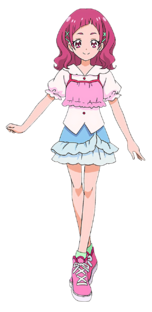 Profile of Nono Hana in her casual outfit