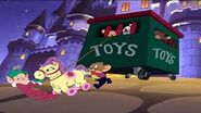 T&J a nutcracker tale - Paulie, nelly and Jerry taking the toys back