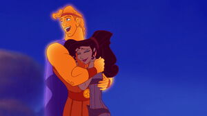 Hercules decides to stay mortal to be with Meg