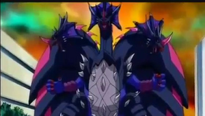 Hydranoid defending Drago from Naga