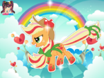 Applejack Rainbow Power