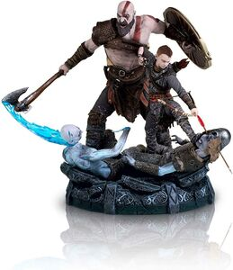 Kratos-and-Atreus-Statue