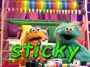 Sony Wonder Sesame Street Bert and Erine's Word play Rosita and Zoe