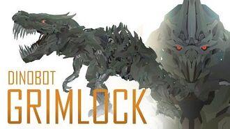 Dinobot GRIMLOCK - Transformers Short Series