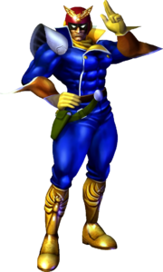 F-Zero - Captain Falcon as seen in F-Zero GX and F-Zero AX