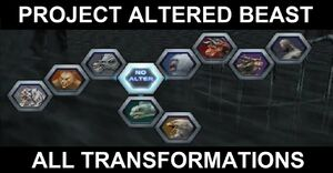All beast forms