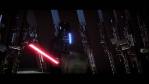 Darth Vader ambushes