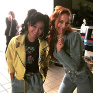 Jubilee and Jean Grey XMA
