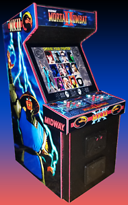 Mortal kombat 2 arcade machine 2