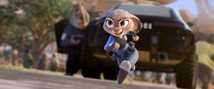 Judy Hopps taking the chase