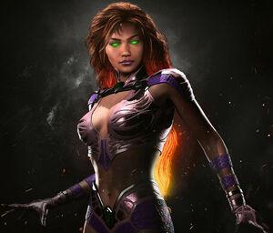 Starfire Injustice 2