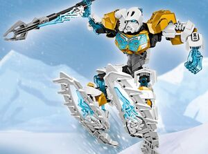 CGI Kopaka Master of Ice Set Function