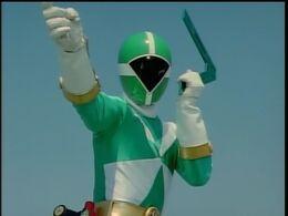 Green lightspeed ranger