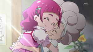 HuPC29 Hana hug her grandmother