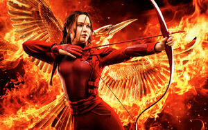 Karnisss as the Mockingjay