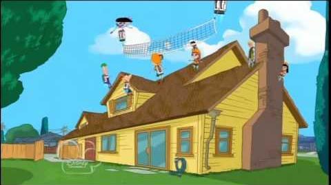 Phineas y Ferb - Voleibol de Propulsión (Jetpack Volleyball) Esp