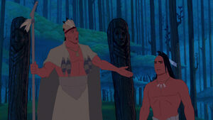 Powhatan with Kocoum