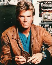 Richard Dean Anderson as Angus MacGyver