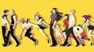Persona 4 investigation team 9