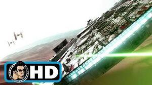 STAR WARS THE FORCE AWAKENS Movie Clip - Millenium Falcon FULL HD Adam Driver Sci-Fi 2015
