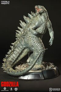 Sideshow Collectibles 24-inch Godzilla 2014 Maquette 1