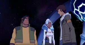 VLD - Hunk, Allura and Lance