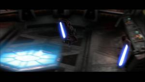 Darth Vader flies