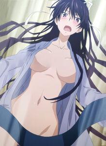 Kaori loses her robe