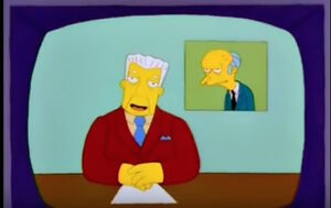 News from Mr. Burns