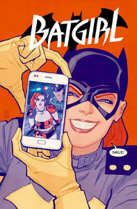 Batgirl Vol 4 39 Textless Harley Quinn Variant