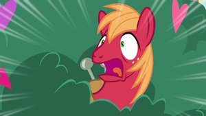 Big Mac gasping in complete shock S8E10