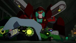 Grimlock and Simacore (The Fastest Bot Alive!)