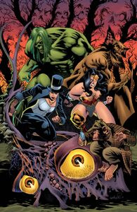 Justice League Dark Vol 2 10Textless Variant