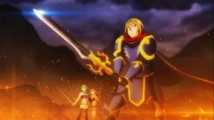 Kyouya prepares to battle
