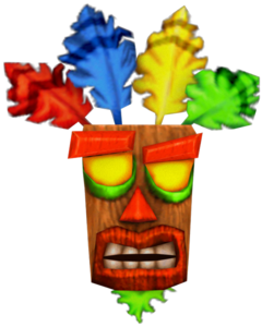 Aku Aku Crash Nitro Kart