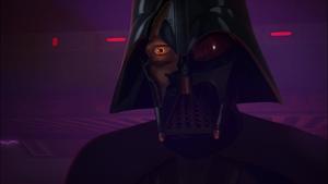 Darth Vader face reveal