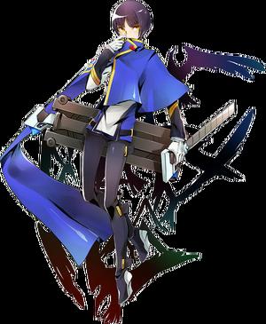 Hibiki Kohaku (Centralfiction, Character Select Artwork)