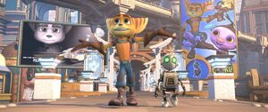 Ratchet & Clank in Aleero City (Movie)