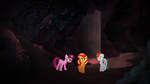 Sunset, Twi, and RD in underground cavern EGSB