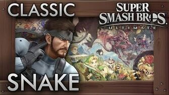 Super Smash Bros. Ultimate Classic Mode - SNAKE - 9