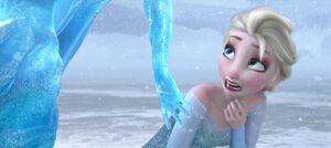 Elsa's Shocked