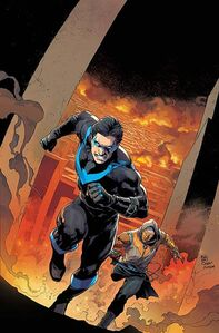 Nightwing Vol 4 4 Textless Variant