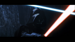 Vader cave duel
