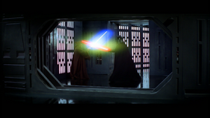 Darth Vader blast door