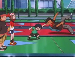 Max grabs Brock