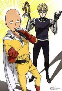Poster-A2-One-Punch-Man-Saitama-Genos-Manga