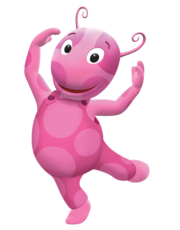 The Backyardigans Uniqua Nickelodeon Nick Jr Character Image 1