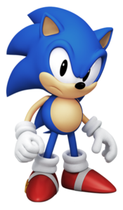 Classic Sonic in Sonic Forces