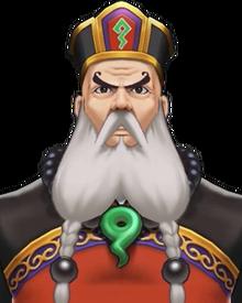 Judge (Khurain) Portrait